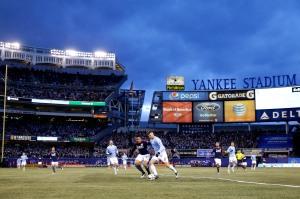 APTOPIX MLS Revolution New York City FC Soccer